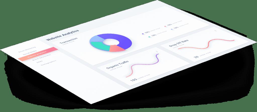 website analysis graphic